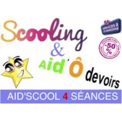 Aid'Scool : Pack 4 séances