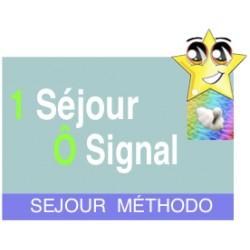 1 Séjour Méthodo Ô signal